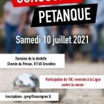 Concours Pétanque 